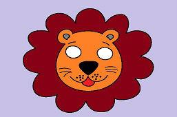 Maska karnawałowa – Lew