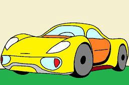 Samochód sportowy Bugatti