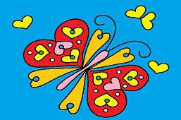 Motyl z serca na skrzydłach