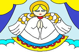 Anioł w oknie