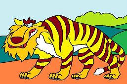 Tygrys – dzikie zwierzę