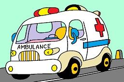 Ambulansowy samochód