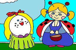 Biedronka i jajko