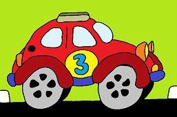 Samochód chrząszcz