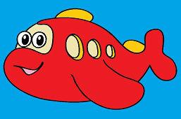 Czerwony okręt podwodny