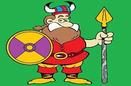 Wojownik Viking