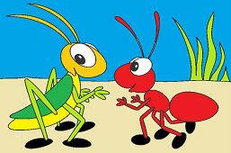 Mrówka i krykieta
