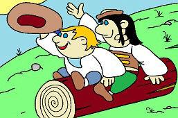 Dwóch pasterzy