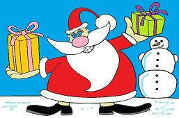 Święty Mikołaj ma prezenty