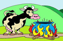 Głodna krowa
