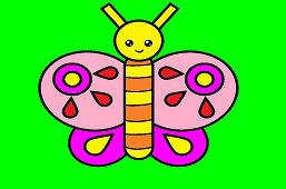 Wytnij motyla