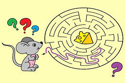 Mysz i kawałek sera
