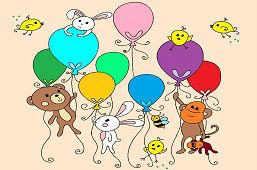 Zwierzęta z balonami