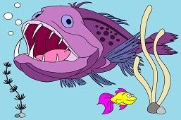 Żabnica i złota rybka