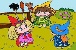 Trzy małe czarownice