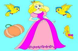 Złotowłosa Księżniczka z bajki