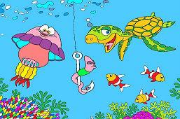 Robak i przyjaciele z morza