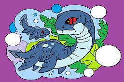 Dinozaur Plesiosaurus