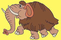 Prehistoryczny mamut