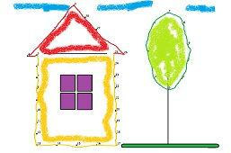 Dom i drzewko