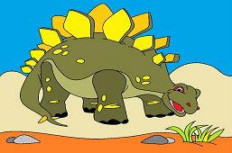 Dino Stegozaur