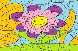 Uśmiechnięty kwiat