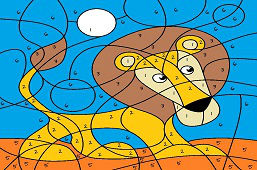 Lew, król zwierząt