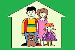 Moi rodzice, pies i ja